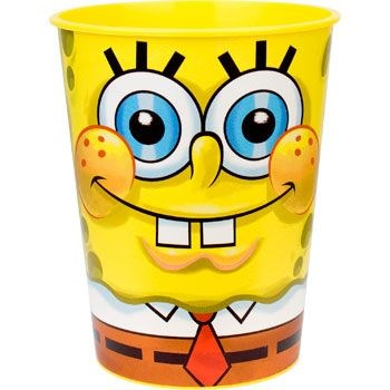 Spongebob Plastic Party Cup