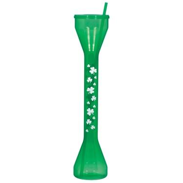 St. Patrick's Day Half-Yard Drinking Glass