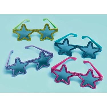 Star Glitter Glasses (12)