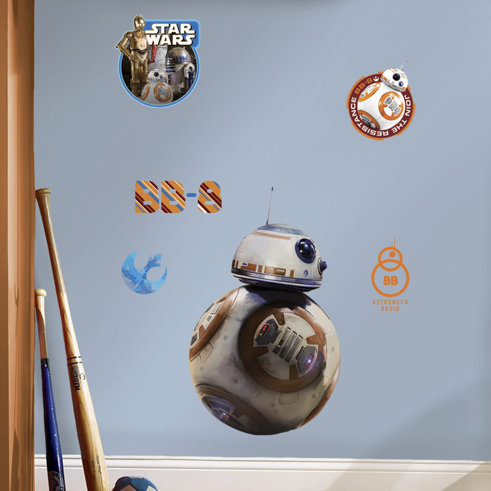 default image star wars 7 the force awakens bb 8 giant wall decal