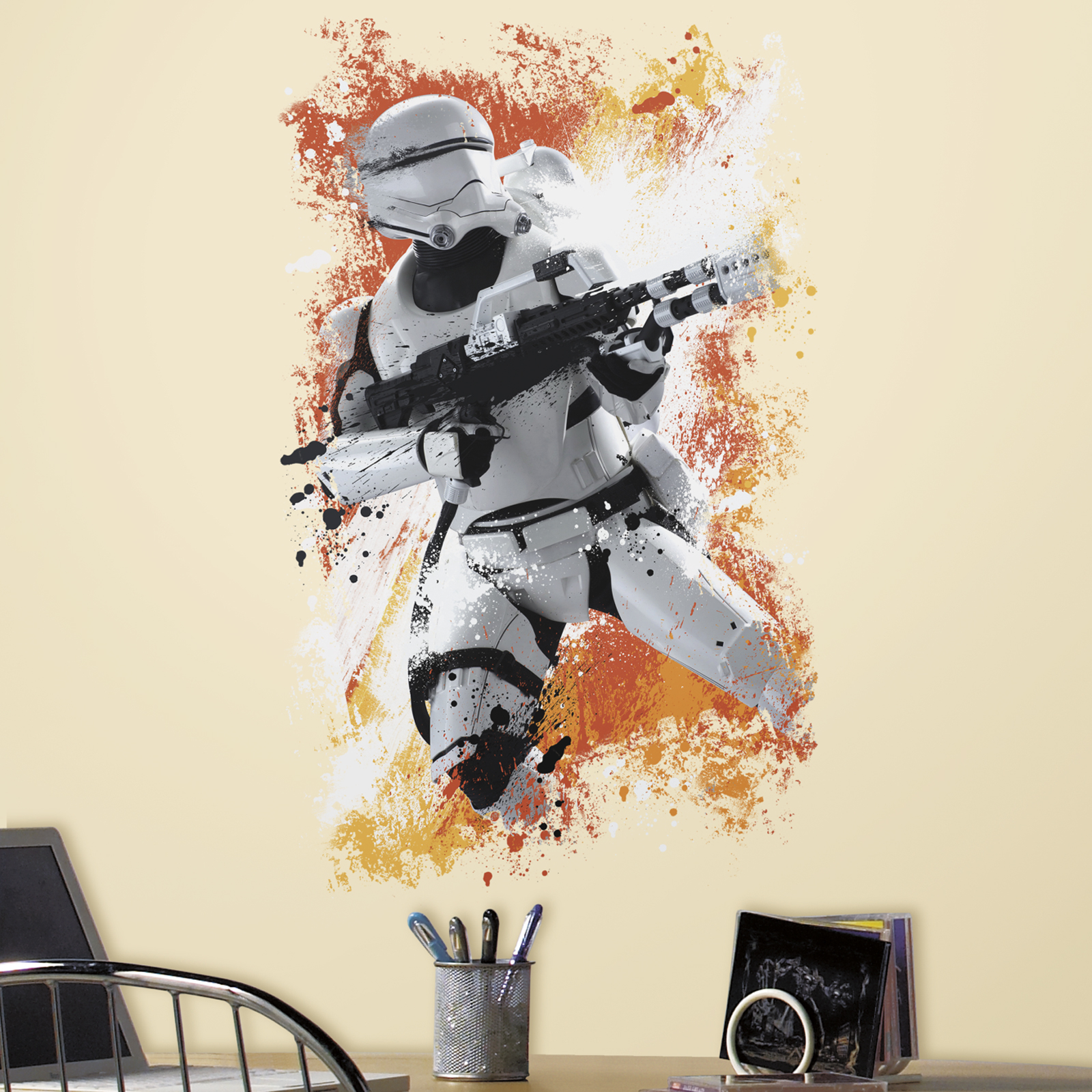 Default Image   Star Wars 7 The Force Awakens Flametrooper Giant Wall Decal Part 67
