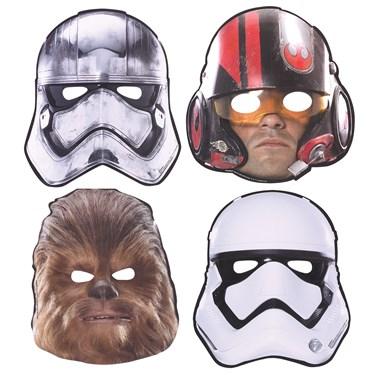 Star Wars 7 The Force Awakens Paper Masks