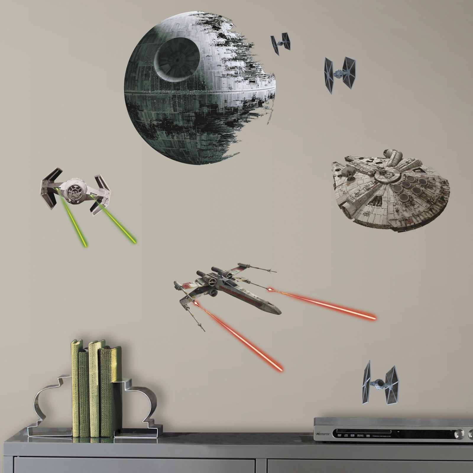 star wars 7 the force awakens spaceships small wall decals
