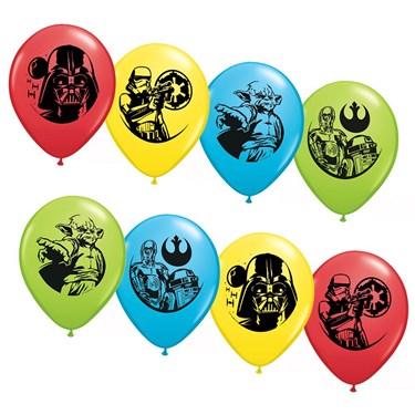 Star Wars Asst. 12 Latex Balloons (6)