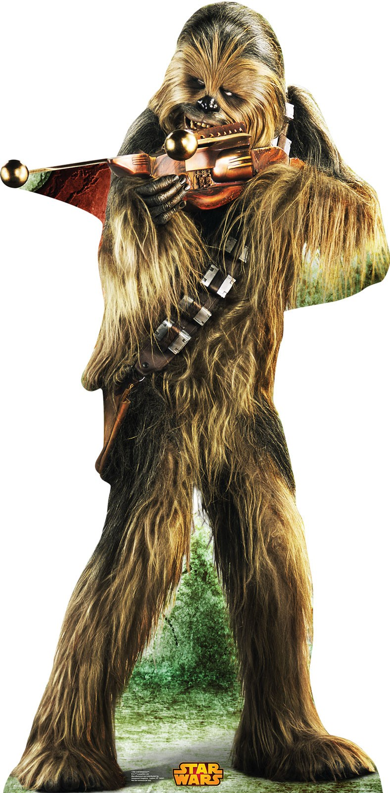 star wars chewbacca standup 6 39 tall. Black Bedroom Furniture Sets. Home Design Ideas