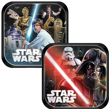 "Star Wars Classic 7"" Cake Plates (8)"