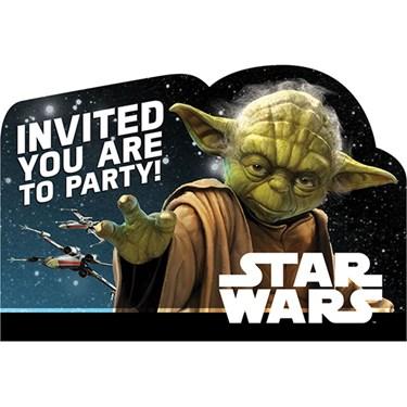 Star Wars Classic Invitations(8)