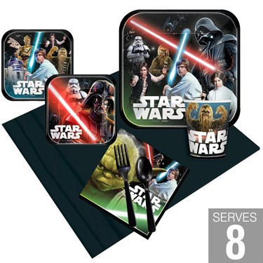 Star Wars Classic Party Pack For 8