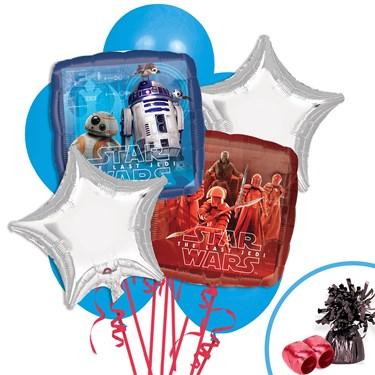 Star Wars Episode VIII Balloon Bouquet