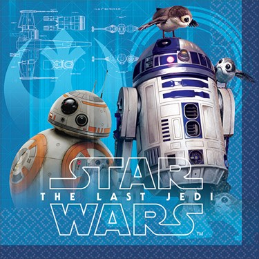 Star Wars Episode VIII: The Last Jedi Beverage Napkins (16)