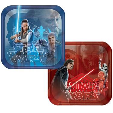 Star Wars Episode VIII Dessert Plates