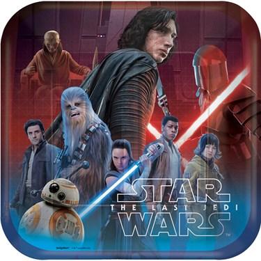 Star Wars Episode VIII Dinner Plates