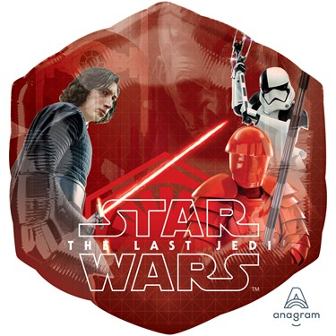 Star Wars Episode VIII Last Jedi Jumbo Foil Balloon (23 in)