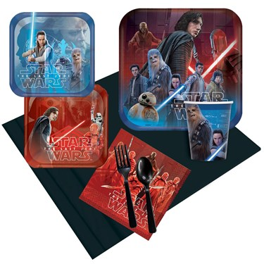 Star Wars Episode VIII The Last Jedi Party Pack for 8