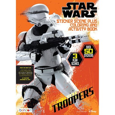 Star Wars Sticker Scene Coloring and Activity Book