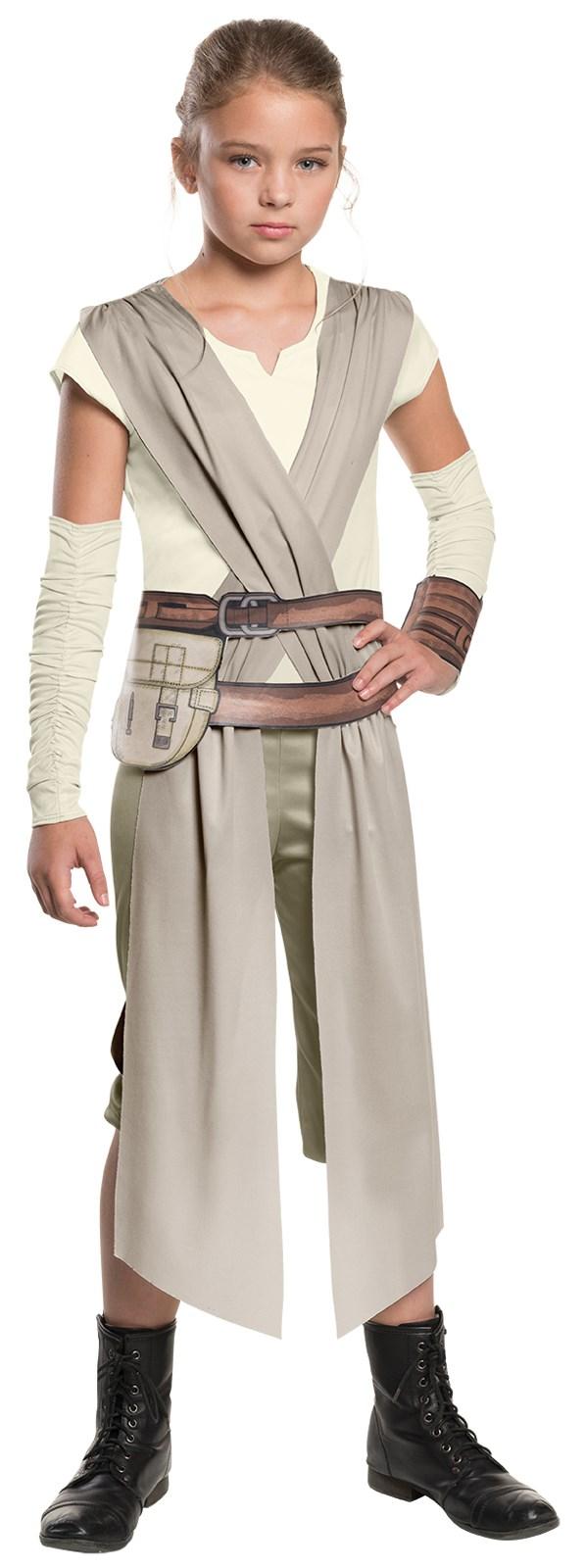 star wars: the force awakens - girls rey classic costume
