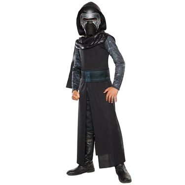 Star Wars:  The Force Awakens - Kylo Ren Classic Costume For Boys