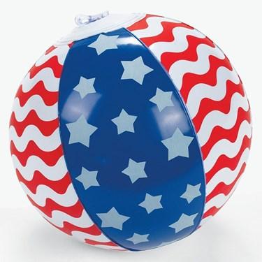 "Stars And Stripes 7"" Beach Ball (12)"