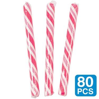 Strawberry Hot Pink 5 Candy Sticks (80)