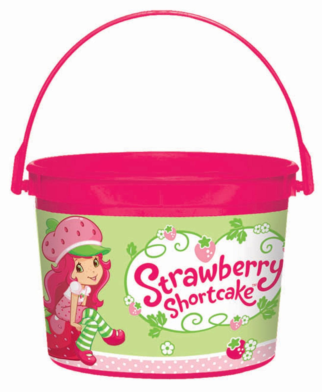 Strawberry Shortcake Party Favor Bucket