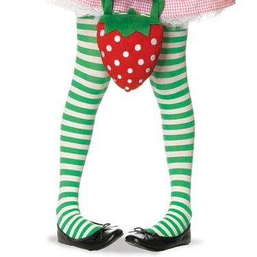 Striped Tights (Green/White) Child