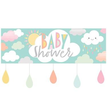 "Sunshine Baby Showers Baby Shower Giant Banner 20"" x 60"""