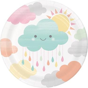 Sunshine Baby Showers Dessert Plate (8)