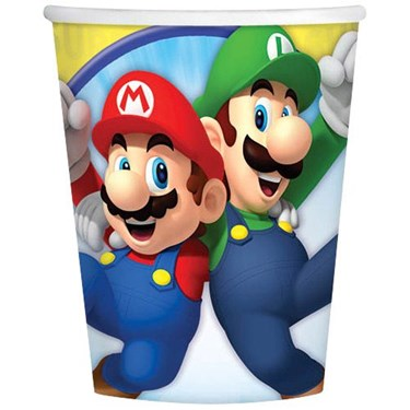 Super Mario 9oz Cups (8)