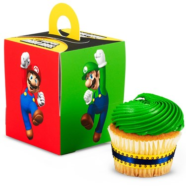 Super Mario Bros. Cupcake Box
