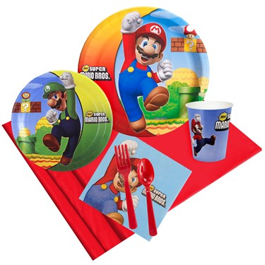 Super Mario Bros Party Pack for 8
