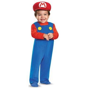 Super Mario Bros: Toddler Mario Costume