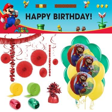 Super Mario Brothers Room Decorating Kit