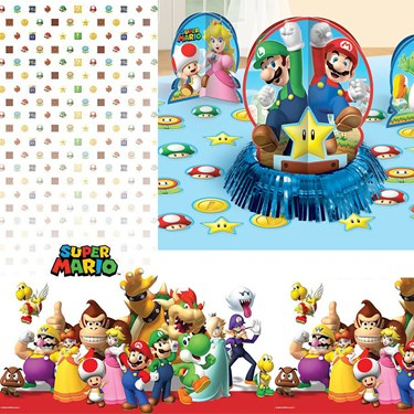 Super Mario Brothers Table Decoration Kit