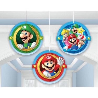 Super Mario Honeycomb Decorations (3)
