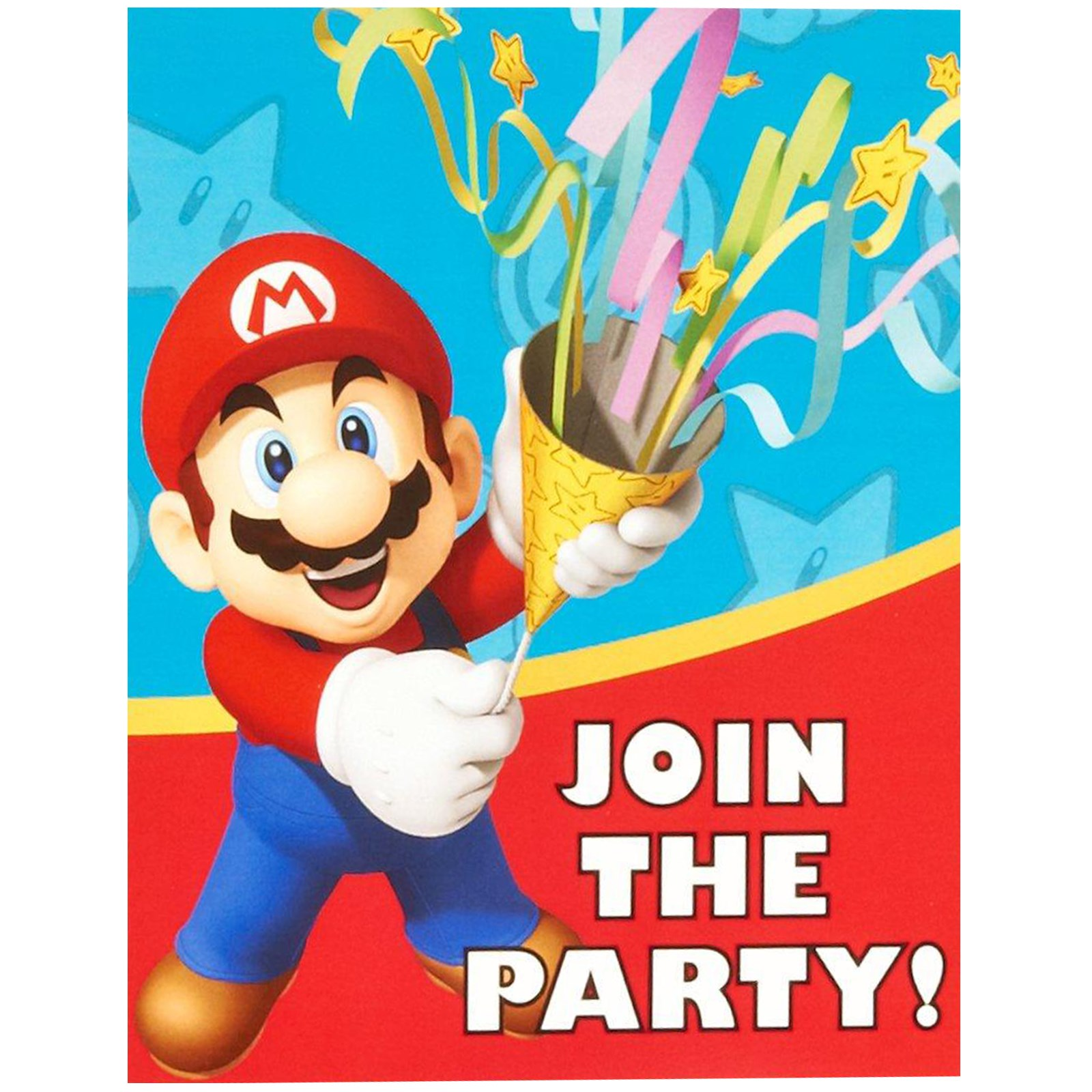 Super mario party invitations birthdayexpress default image super mario party invitations monicamarmolfo Gallery