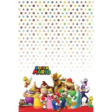 Super Mario Plastic Table Cover (1)
