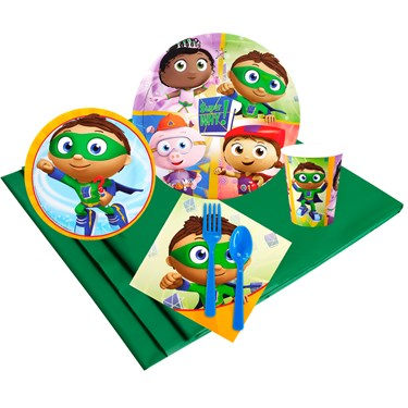 Super Why 16 Guest Party Pack