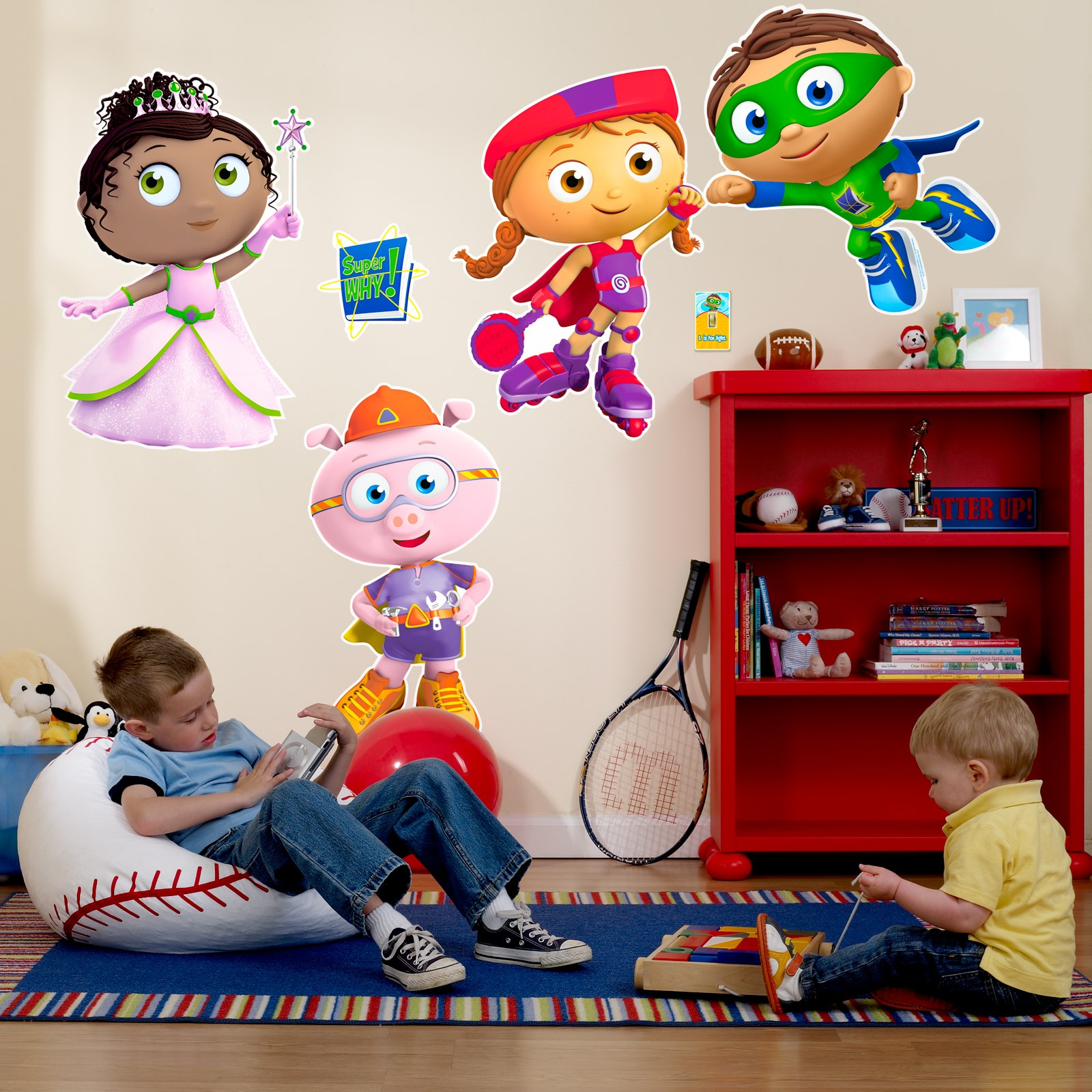 super why party supplies birthdayexpress com giant wall decals