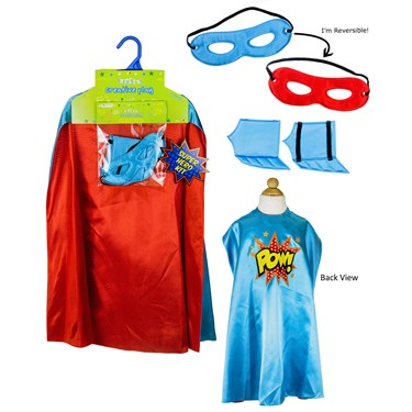 Superhero Boy Blue Cape Kit
