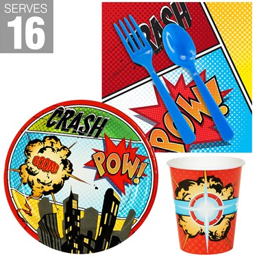 Superhero Comics Snack Pack for 16