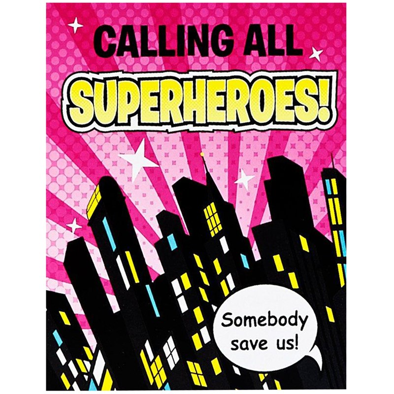 Superhero Girl Invitations Birthdayexpress Com