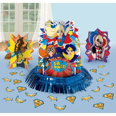 Superhero Girl Table Decor Kit
