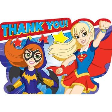 Superhero Girl Thank You Notes(8)