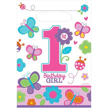 Sweet Birthday Girl Treat Bags(8)