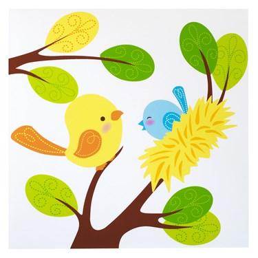 Sweet Tweet Bird Blue - Lunch Napkins