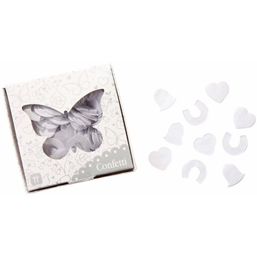 Talking Tables White Butterfly Confetti
