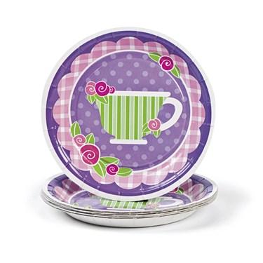 Tea Party Dessert Plates(8)