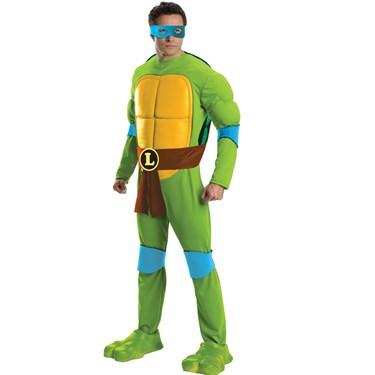 Teenage Mutant Ninja Turtles Deluxe Leonardo Adult Costume