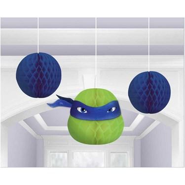 Teenage Mutant Ninja Turtles Honeycomb Decor(3)