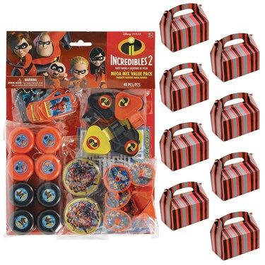 The Incredibles 2 Filled favor Kit for 8